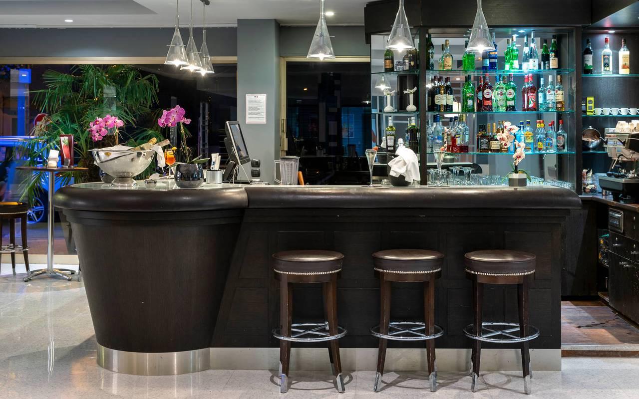 hotel bar, 4-star hotel french riviera, Juliana Hotel Cannes
