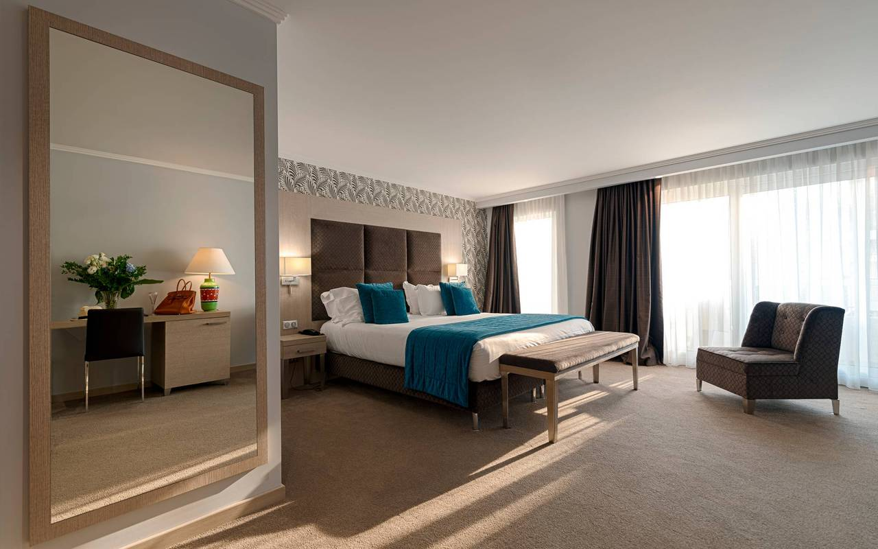 Grande chambre, hotel luxe cannes, Juliana Hotel Cannes