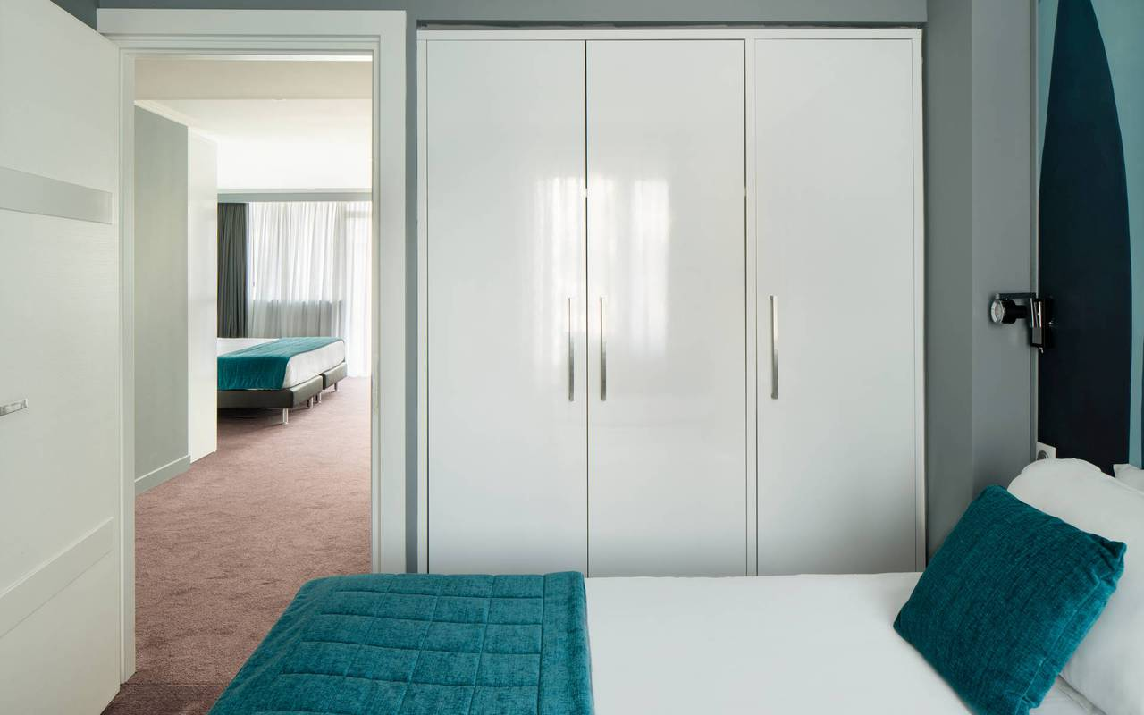 chambre moderne, hotel luxe cannes, Juliana Hotel Cannes
