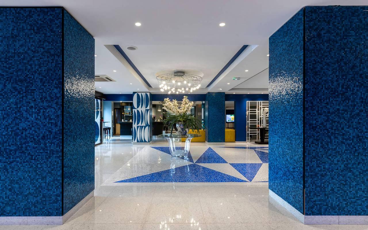 Hall d'entrée, boutique hotel cannes, Juliana Hotel Cannes.