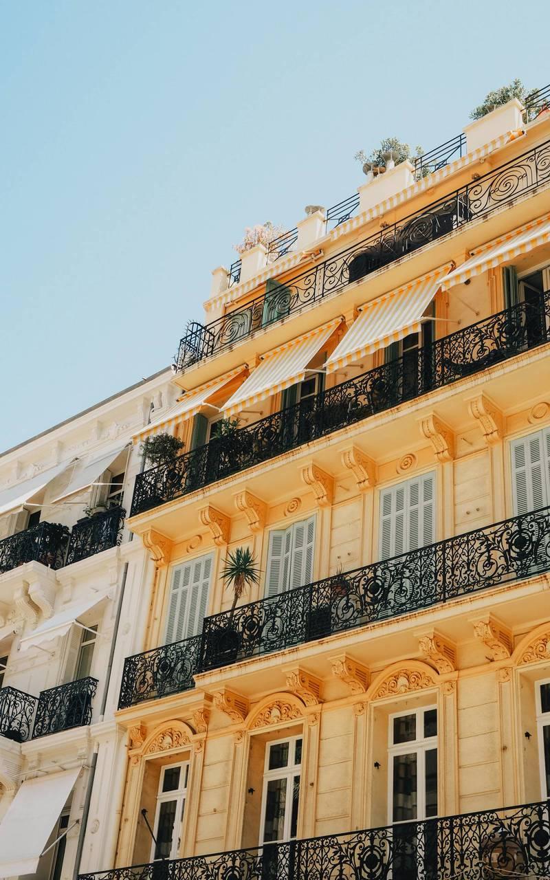 Batiments de Cannes, hotel avec piscine cannes, Juliana Hotel Cannes